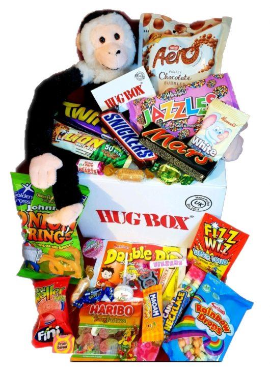 Monkey Hug Box