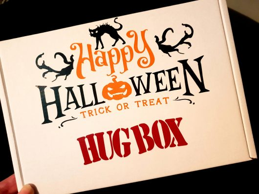 halloween trick or treat hug box