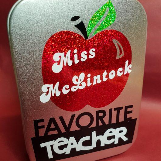 teacher tin